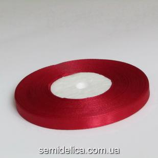 Лента атласная 0,6 см, бордо