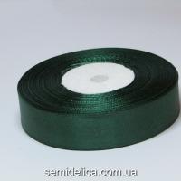 Лента атласная 2,0 см, зеленый
