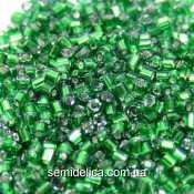 57120 Бисер рубка Чехия 10/0, зеленый