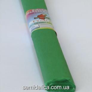 Креп-бумага 50Х200 см, 35-40г, зеленый
