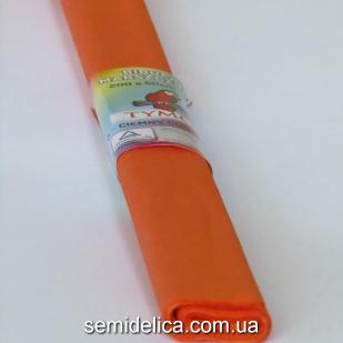 Креп-бумага 50Х200 см, 35-40г, оранжевый