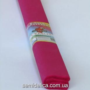 Креп-бумага 50Х200 см, 35-40г, бордо