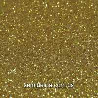 Фоамиран глиттерный 2 мм 20х30 см, золото