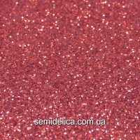 Фоамиран глиттерный 2 мм 20х30 см, красный