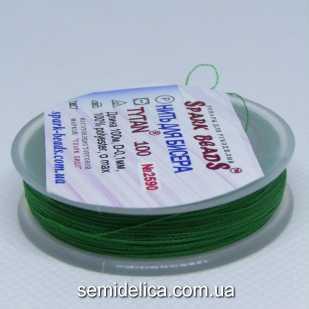 Нить для бисера TYTAN 100 м, зеленый