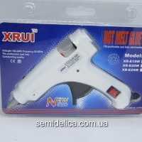 Пистолет клеевой XRUI стержень 7мм Е20W с кнопкой