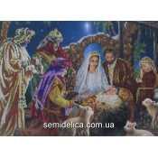 """Схема для вышивки, панно, """"Рождество Христово"""""""