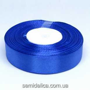 Лента атласная 2,0 см, синий