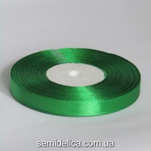 Лента атласная 0,9 см, зеленый светлый