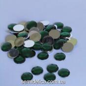 Стразы 10мм, зеленый