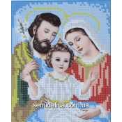 """Схема для вышивки А5 """"Святое семейство"""""""