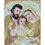 "Схема для вышивки А5 ""Святое семейство"" (золото)"