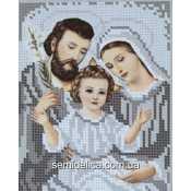 """Схема для вышивки А5 """"Святое семейство"""" (серебро)"""