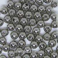 Бусины Жемчуг 8 мм, серебро
