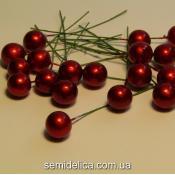 Калина россыпью 12мм, красный