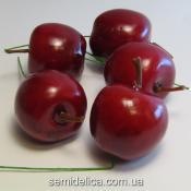 Яблоко на проволочке 3,5 см красный