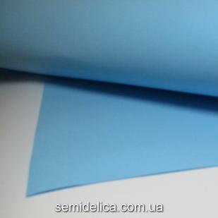 Фоамиран голубой