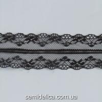 Кружево 4,0 см, черный