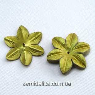 Заготовка для цветочка 4,8 см, золото