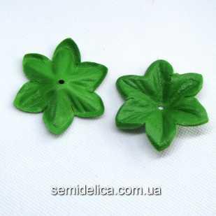 Заготовка для цветочка 6,0 см чашелистик, зеленый светлый