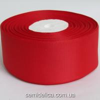 Лента репсовая 4,0 см, красный