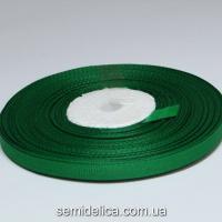 Лента репсовая 0,6 см, зеленый