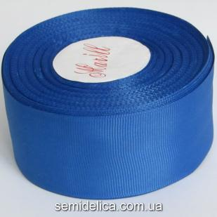 Лента репсовая 4,0 см, синий