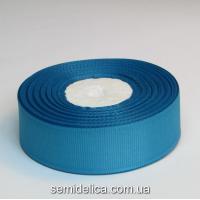 Лента репсовая 2,5 см, синий