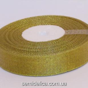 Лента парчевая 2,0 см, золото