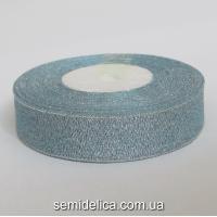 Лента парчевая 2,0 см, голубой