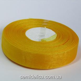 Лента органза 2,0 см, оранжевый