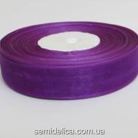 Лента органза 2,0 см, фиолетовый