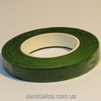 Тейп-лента 12ммх30м, зеленый темный
