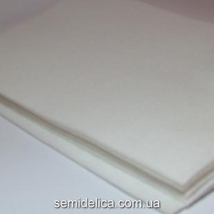Фетр 2 мм 20х30 белый