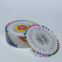 Булавки портновские с шариком разноцветным