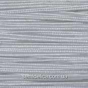 Сутажный шнур, сутаж 3мм, белый
