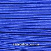 Сутажный шнур, сутаж 3мм, синий
