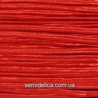 Сутажный шнур, сутаж 3мм, красный