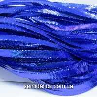 Тесьма-шнур 0,5 см, синий